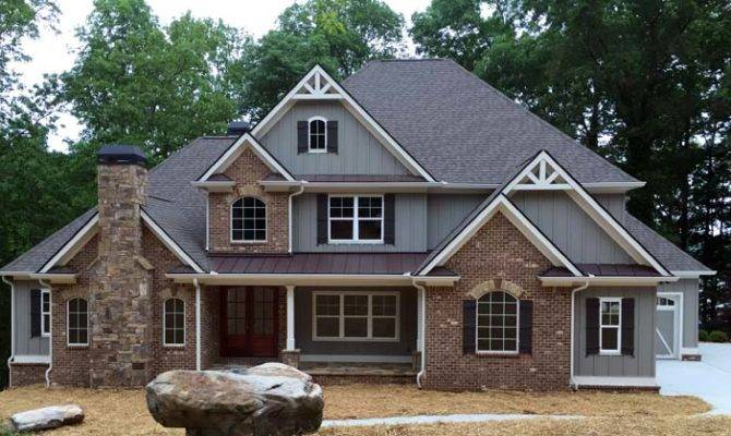 Craftsman French Country Traditional House Plan