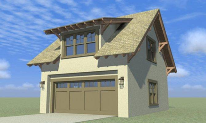 Craftsman Garage Apartment Hwbdo Bungalow Plan