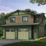 Craftsman Garage Wtih Studio Above Hwbdo Plan