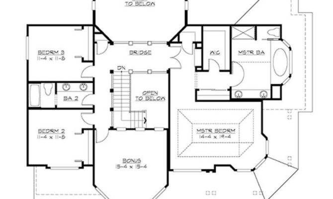 Craftsman Home Plan Bedrooms House