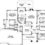 Craftsman House Plan Goldendale Floor