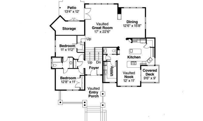 Craftsman House Plan Kelseyville Floor