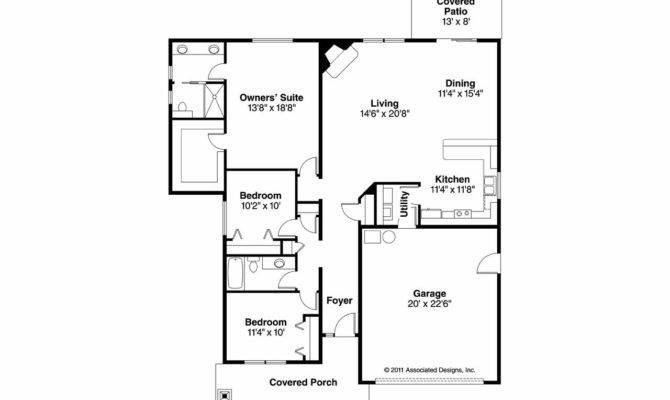 Craftsman House Plan Logan Floor