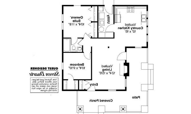 Craftsman House Plan Pinewald Floor