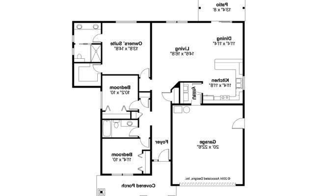 Craftsman House Plan Ravenden Floor