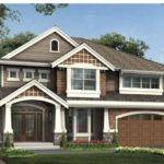 Craftsman House Plan Welcoming Double Doors Columned Porch