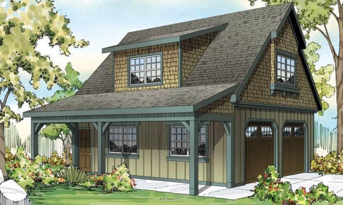 Craftsman House Plans Car Garage Attic Associated
