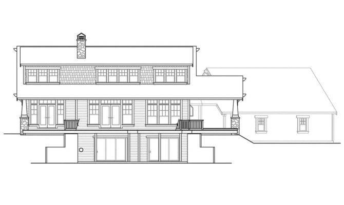 Craftsman House Plans Cedarbrook Associated Designs