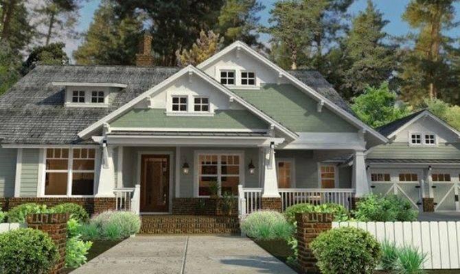 Craftsman House Plans Porch Furniture Idea
