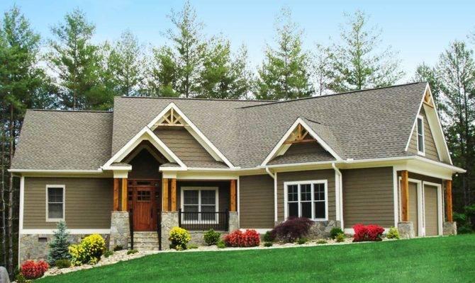 Craftsman Inspired Ranch Home Plan