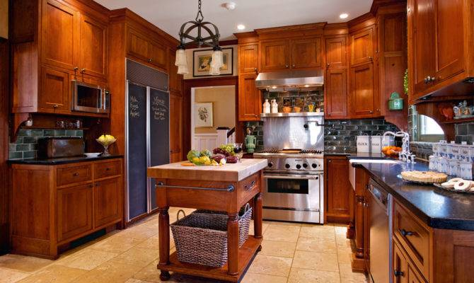 Craftsman Kitchen Featured Old House Interiors Carisa