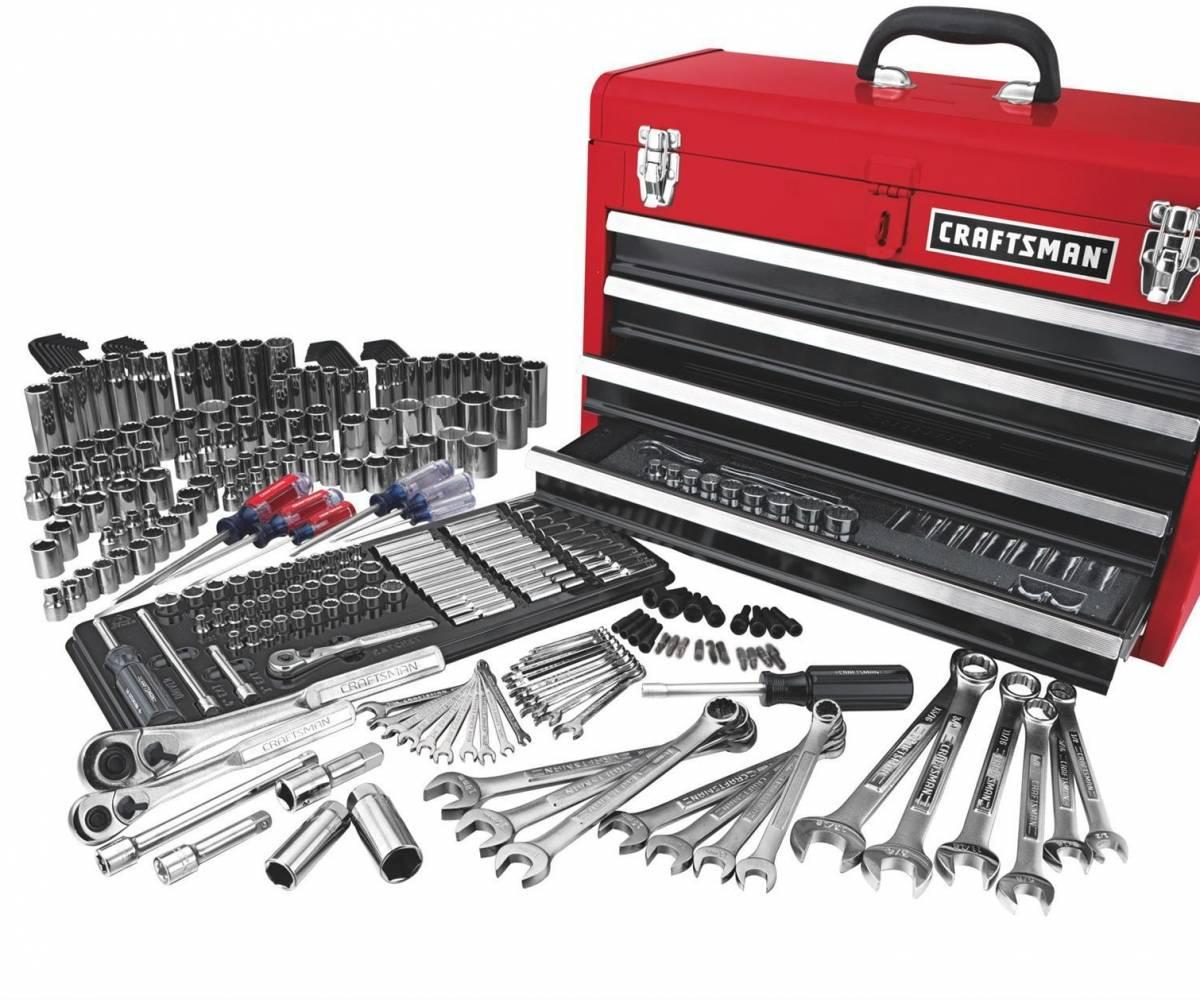Craftsman Mechanics Tool Set Comely Piece
