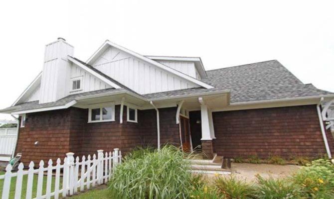 Craftsman Narrow Lot House Plans Cottage