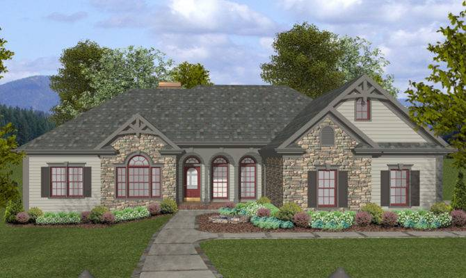 Craftsman Ranch Home Plan House Plans More