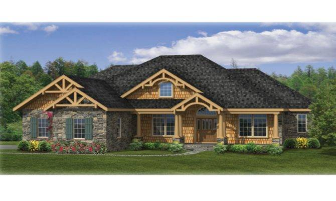 Craftsman Ranch House Plans Affordable