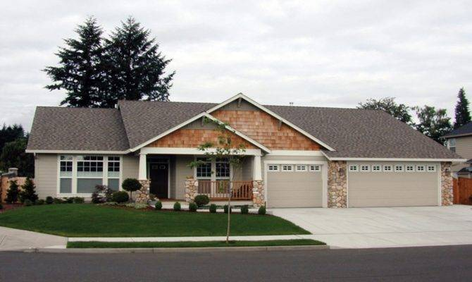 Craftsman Ranch House Plans