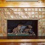 Craftsman Style Fireplace Surround