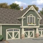 Craftsman Style Garage Plan Hwbdo