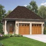 Craftsman Style Garage Plan Square Feet Bedrooms