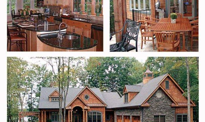 Craftsman Style Hillside House Plan Positioned