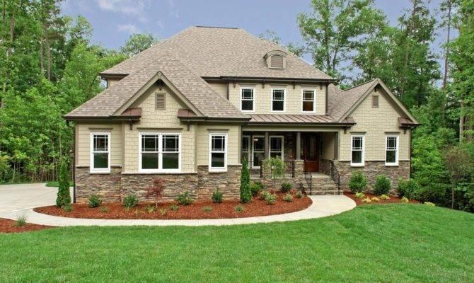 Craftsman Style Home Exterior Design Modern