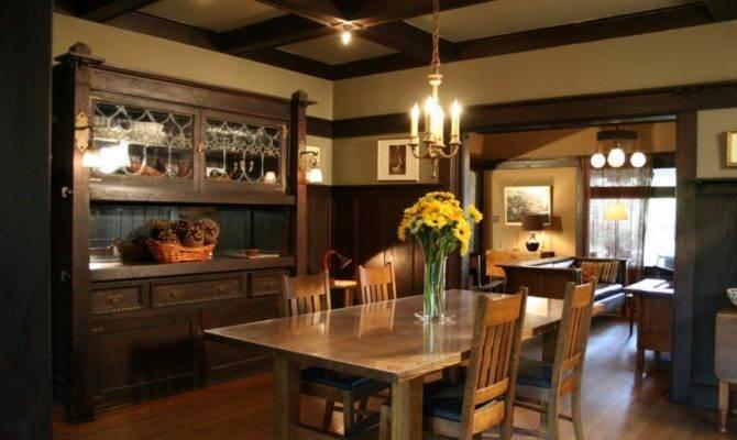 Craftsman Style Home Interior Design