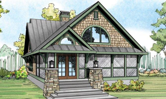 Craftsman Style Home Plans Porch