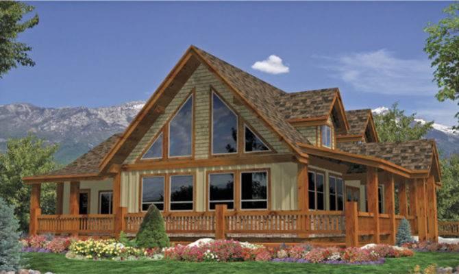 Craftsman Style Homes Alberta Log Home Builders