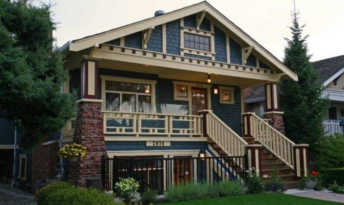 Craftsman Style House Houzz Homes Architecture Pinterest