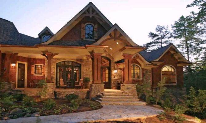 Craftsman Style House Large Front Porch Youtube