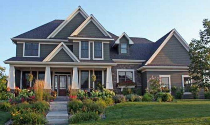 Craftsman Style House Plans One Story Basement