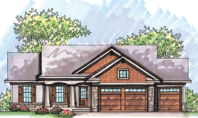 Craftsman Style House Plans Story
