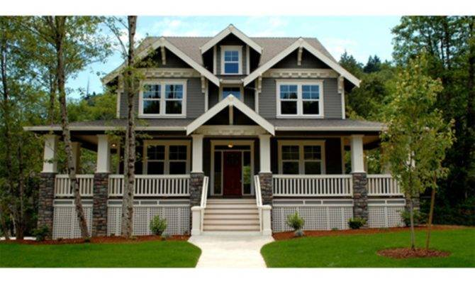 Craftsman Style House Plans Wrap Around Porch Beds
