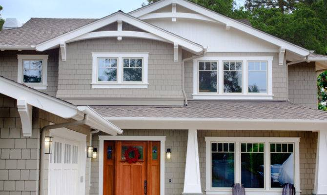 Craftsman Style New Home Exterior San