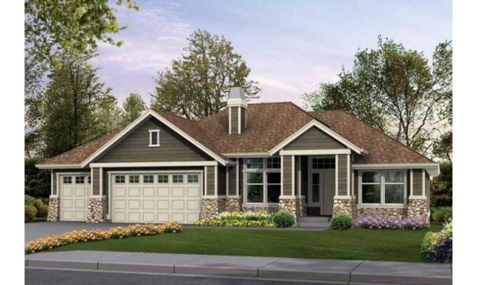 Craftsman Style Rambler Home Plans Eplans House Plan