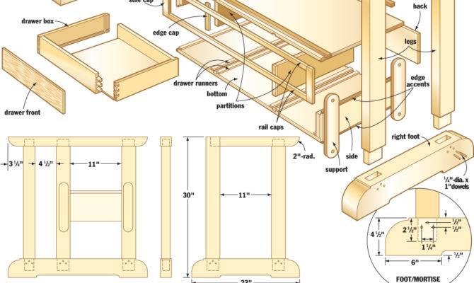Craftsmans Workbench Woodworking Plans Woodshop