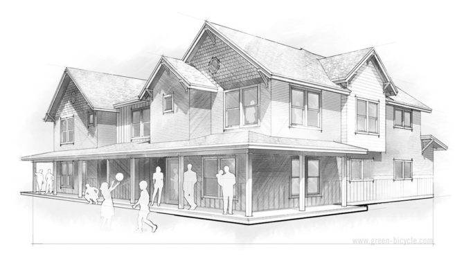 Create Orthographic Drawing Exterior Your Dream House