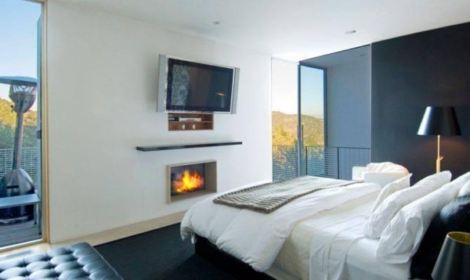 Creative Interior Design Nestled Modern Mansion
