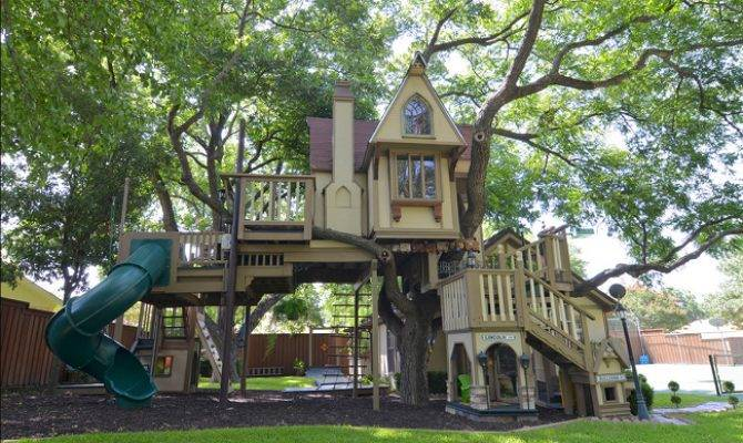Creative Luxury Outdoor Playhouses Interior Exterior Ideas