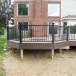 Creative Outdoor Octagon Wooden Deck Ideas