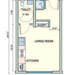 Creative Small Studio Apartment Floor Plans Designs