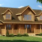 Crestview Log Home Plan Southland Homes