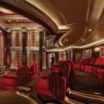 Crimson Red Inspired Home Theatre Costs Million