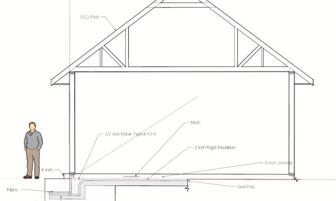 Cross Hipped Roof Hip Look Giving Car Garage Plans Shed