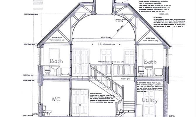 Cross Section House Drawing Quotes