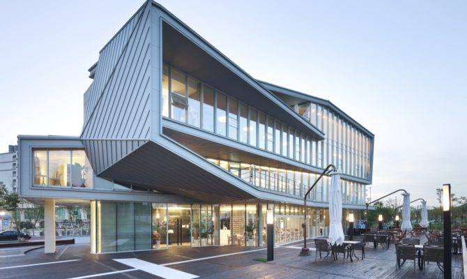 Cubo Junglim Architecture Archdaily