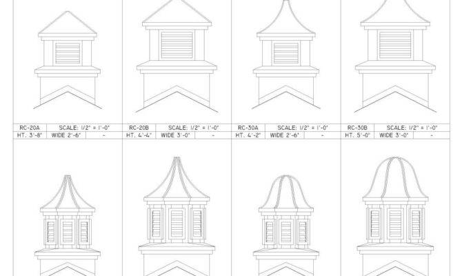Cupola Designs Plans Diy Build Home Plans Blueprints 71809