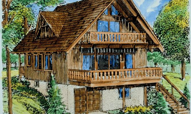 Cupola Pond Vacation Cabin Home Plan House Plans More
