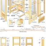 Curio Cabinet Plans Shelves Build Pdf