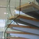 Curved Stair Illustrates Importance Handling